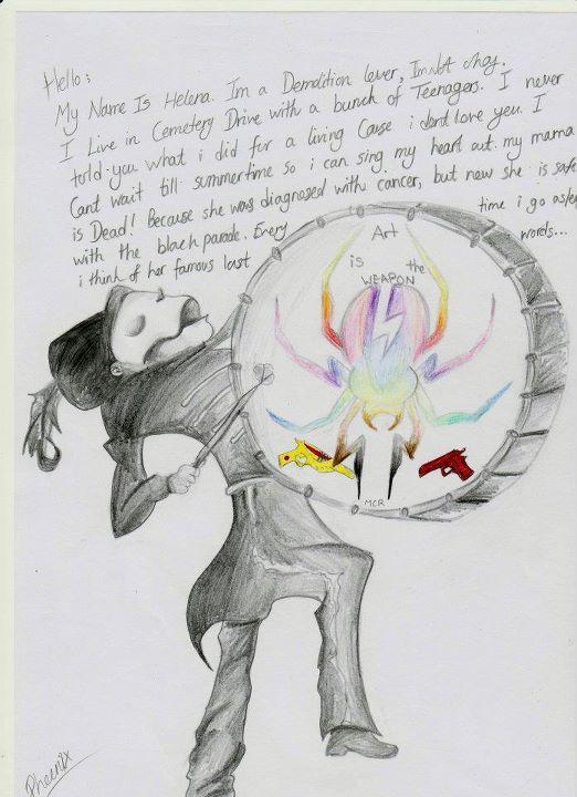 The era's of my chemical romance... by Phoenixartss
