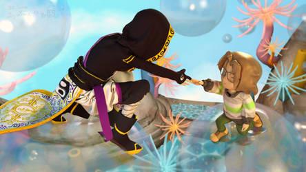 Let's climb those bubbles! by 13-Lenne-13
