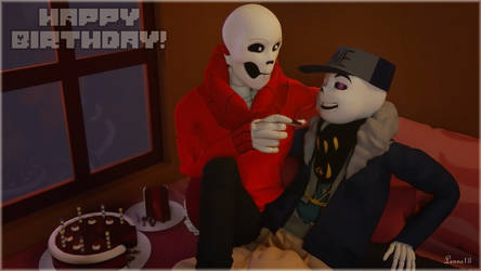 Happy Birthday Fuegobomb themed! by 13-Lenne-13