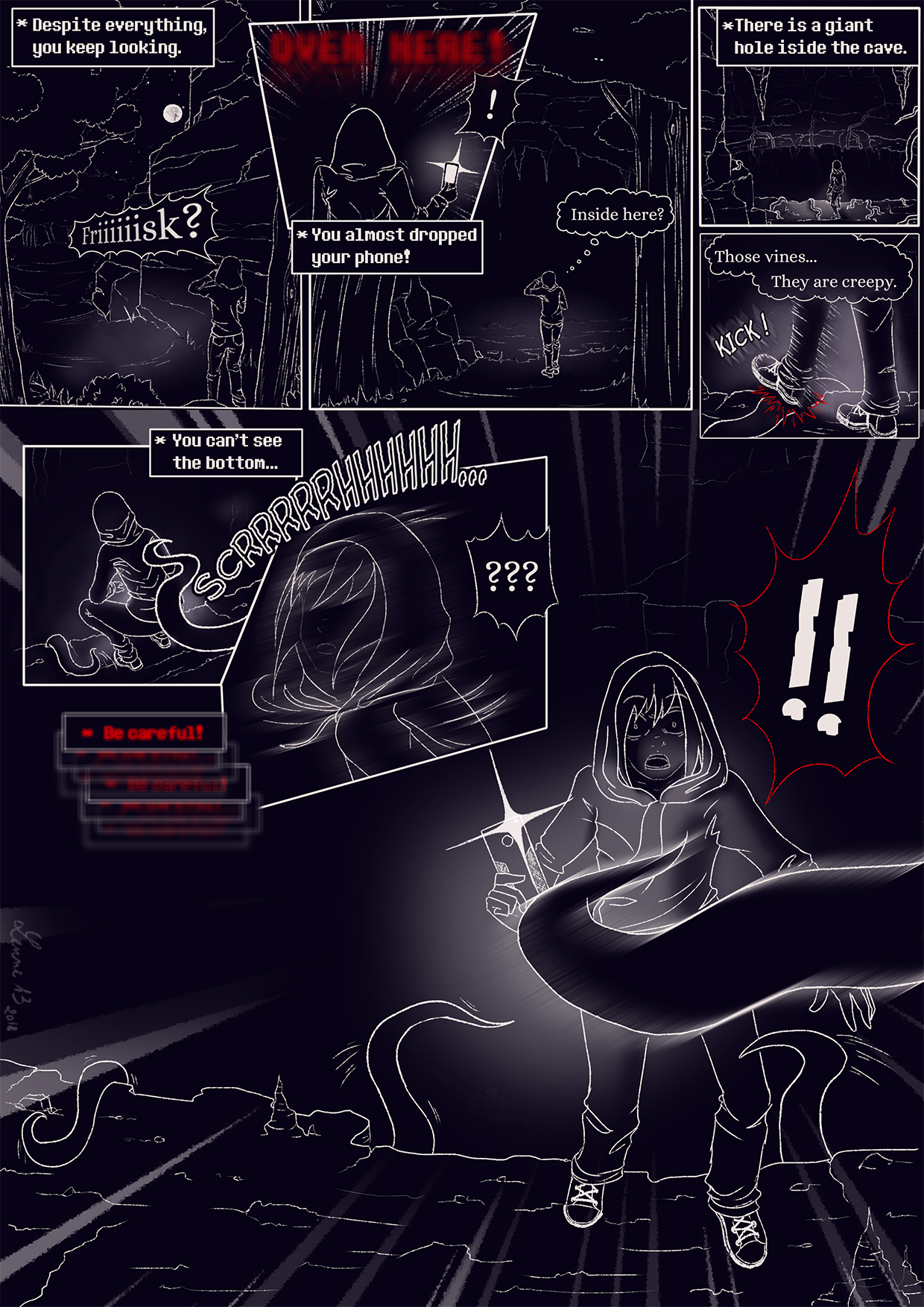 Marionnette - a 10KTale sidestory - page1 by 13-Lenne-13