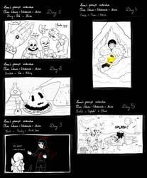 Compilation of Inktober!