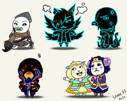 Undertale OC as animal crossing charaters 1
