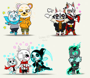 Undertale OC as animal crossing charaters 2