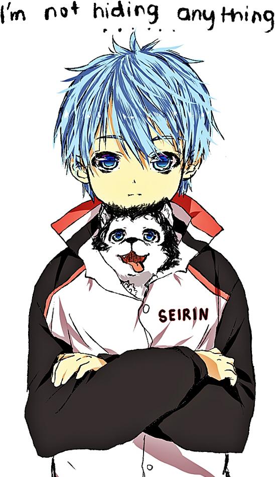 Kuroko and #2! by temiji