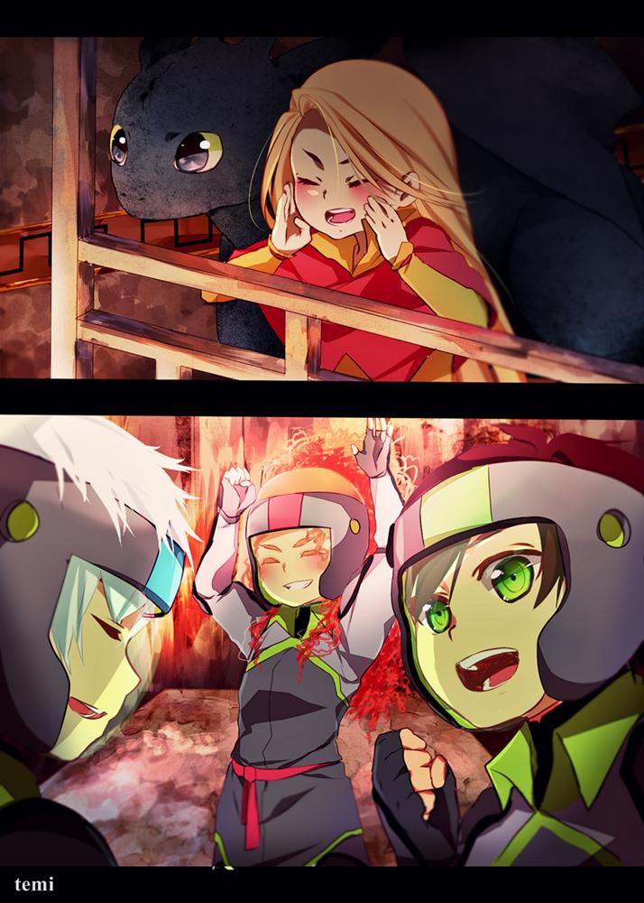 Team Night Fury! by temiji