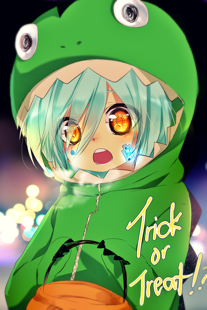 Trick or treat? by temiji