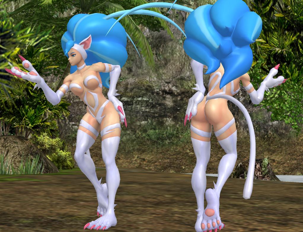 Double Felicia by NekoHybrid