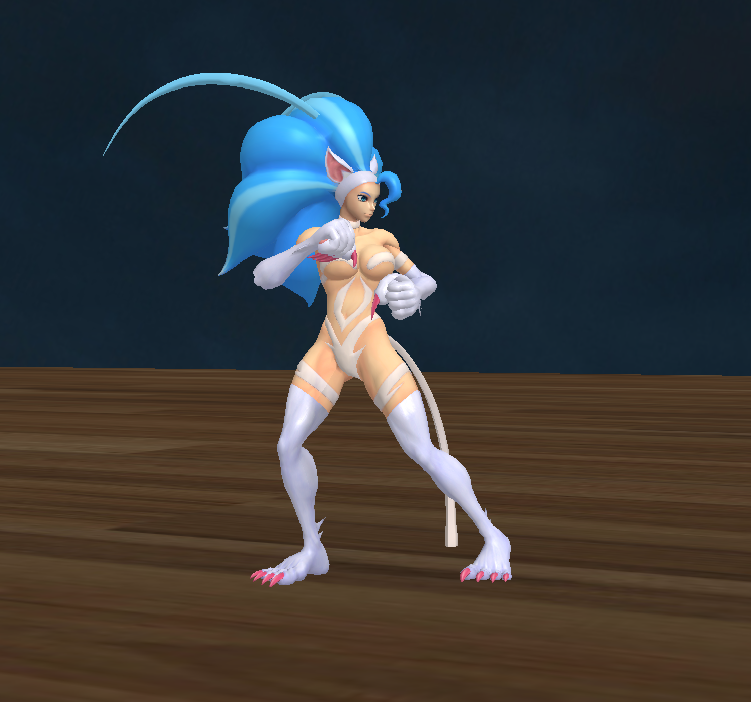 Felicia Ryu Stance by NekoHybrid