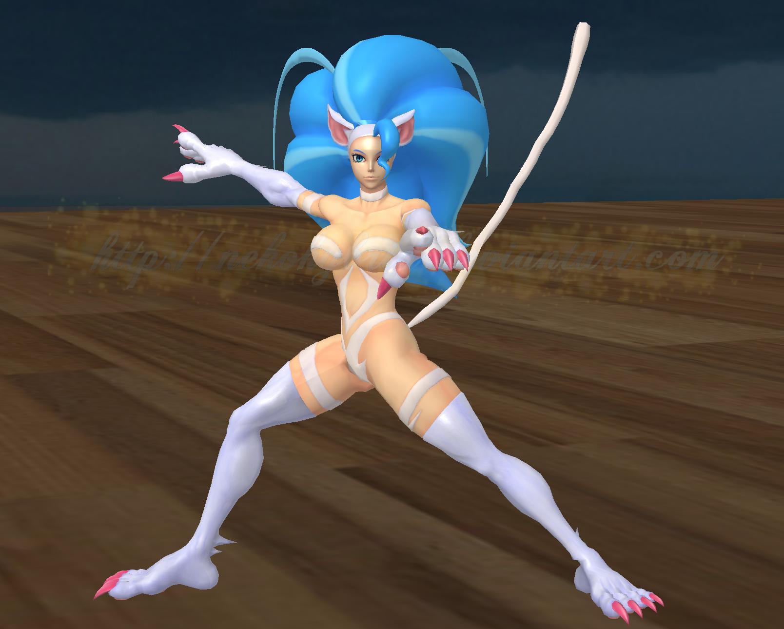 Felicia Kamen Rider Pose by NekoHybrid