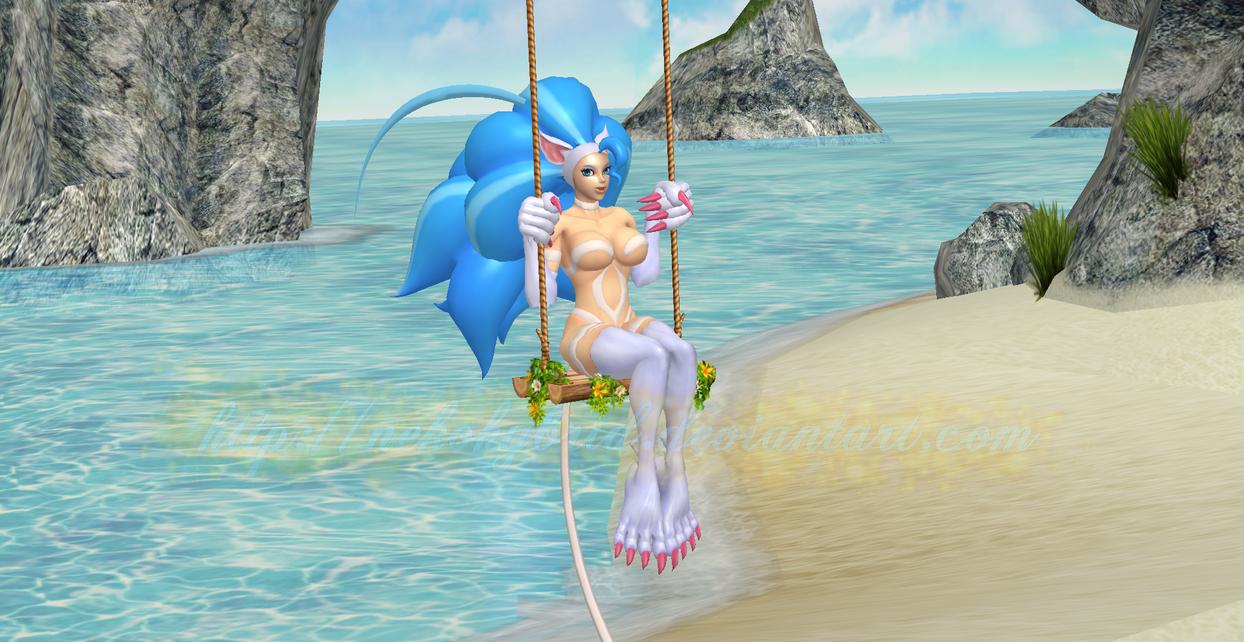 Felicia Tropical Swing by NekoHybrid