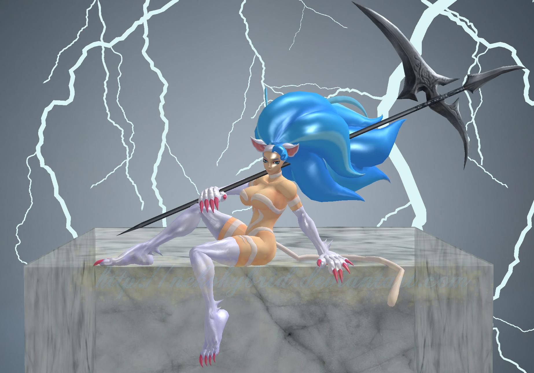 Felicia Divine Scythe by NekoHybrid