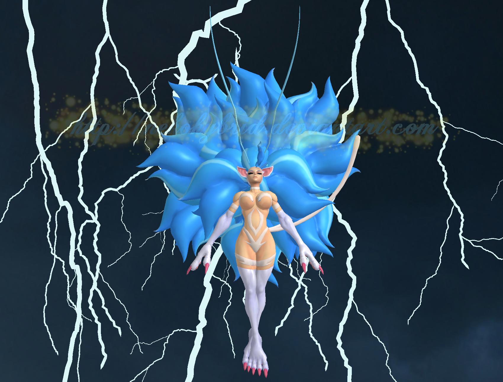 Felicia Powered Up! by NekoHybrid
