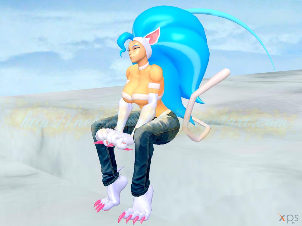 Felicia Jeans Model by NekoHybrid