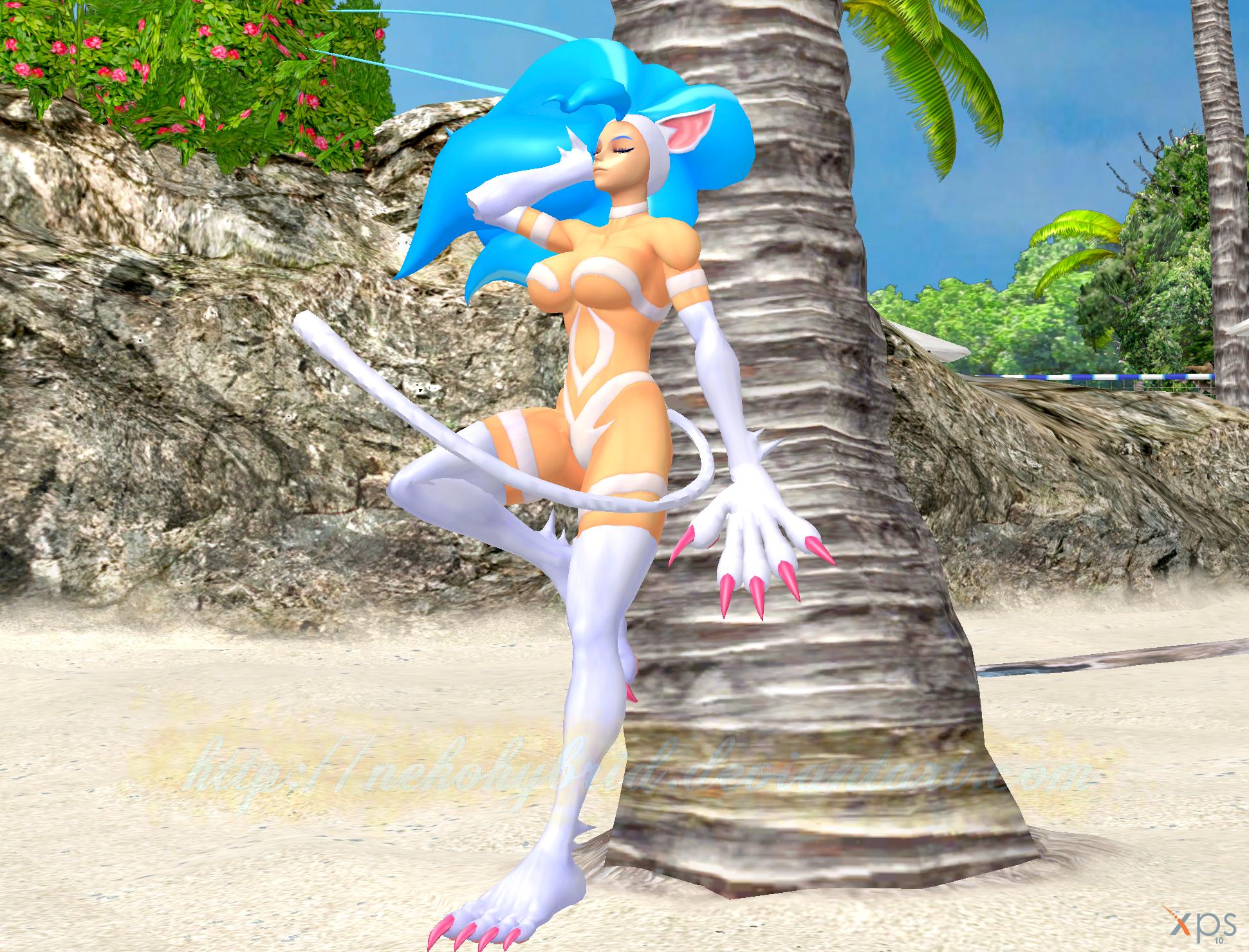 Felicia's Beach Gravure by NekoHybrid