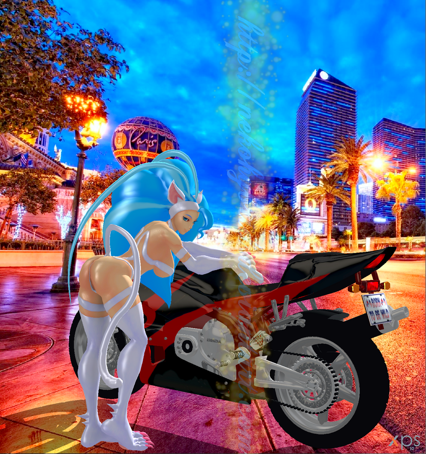Las Vegas Motorcycle Neko Model by NekoHybrid