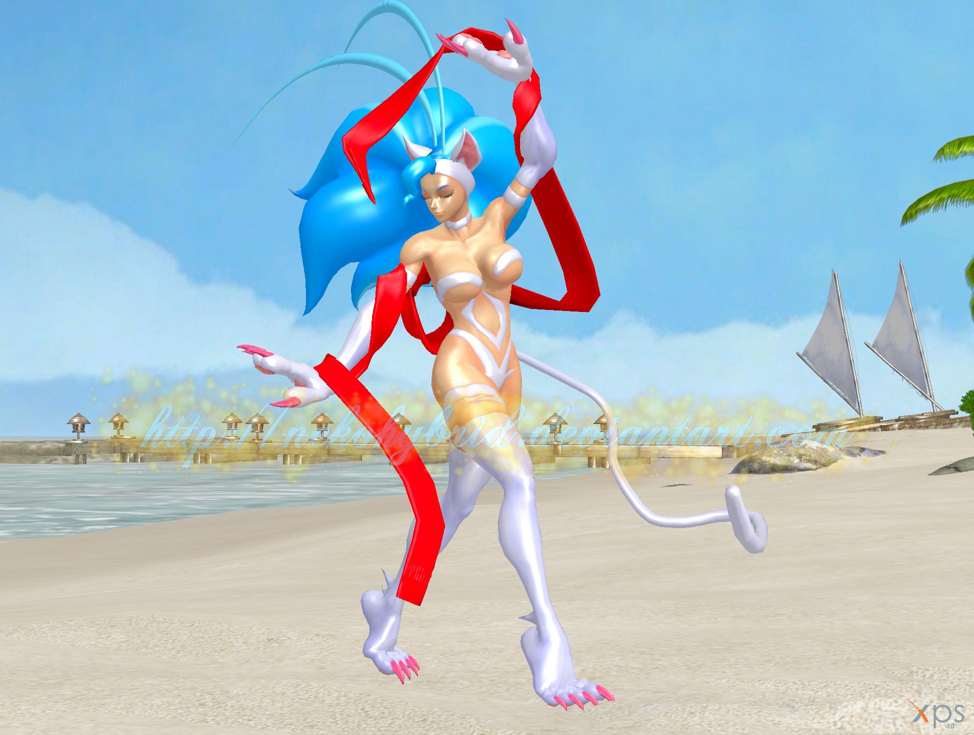 Felicia the Silk Dancer by NekoHybrid