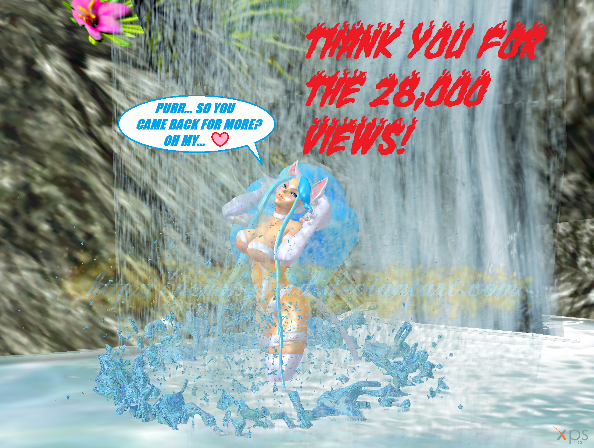 Thank You for the 28,000 Page Views! by NekoHybrid
