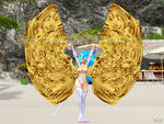 Felicia Belly Dancing with Isis Wings