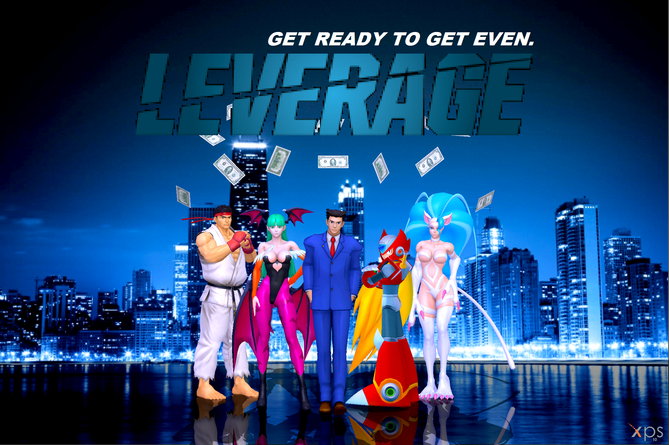 Capcom does Leverage by NekoHybrid