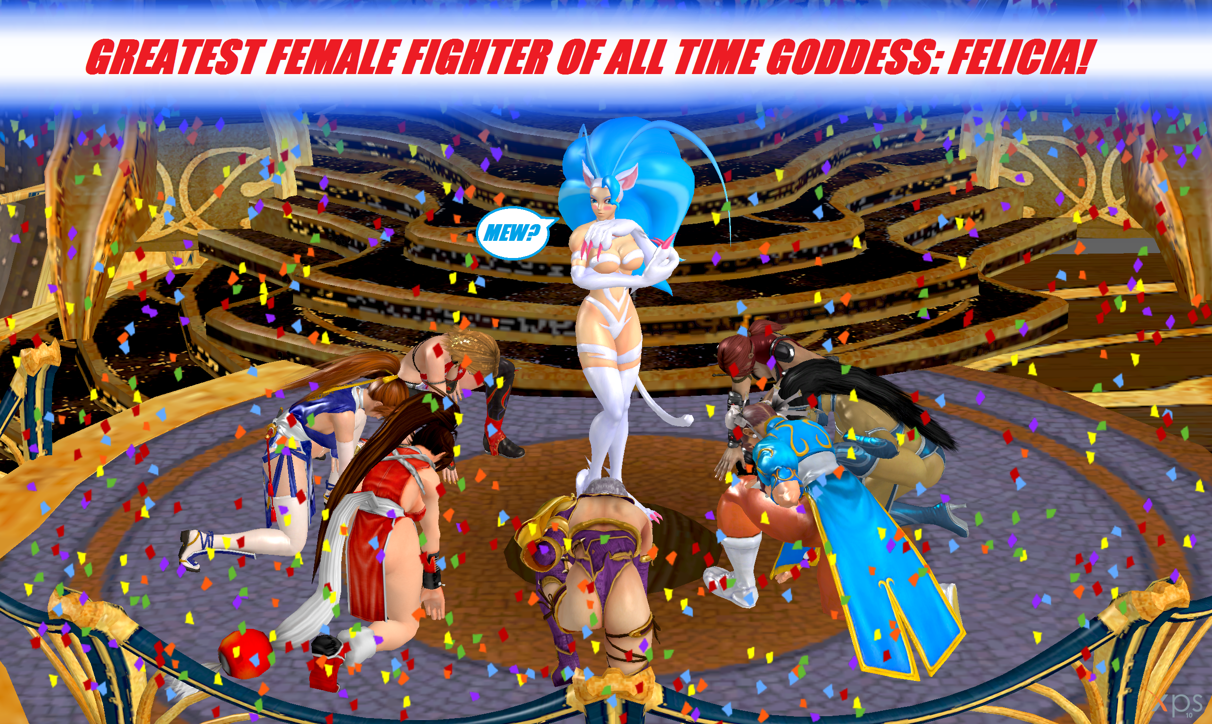 Felicia: the Greatest Female Fighter of All Time! by NekoHybrid