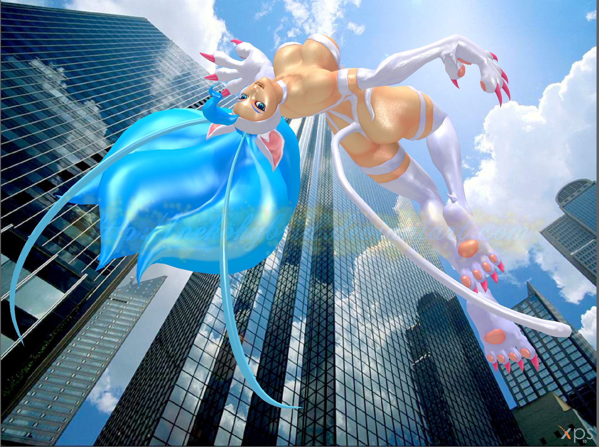 City Jump by NekoHybrid