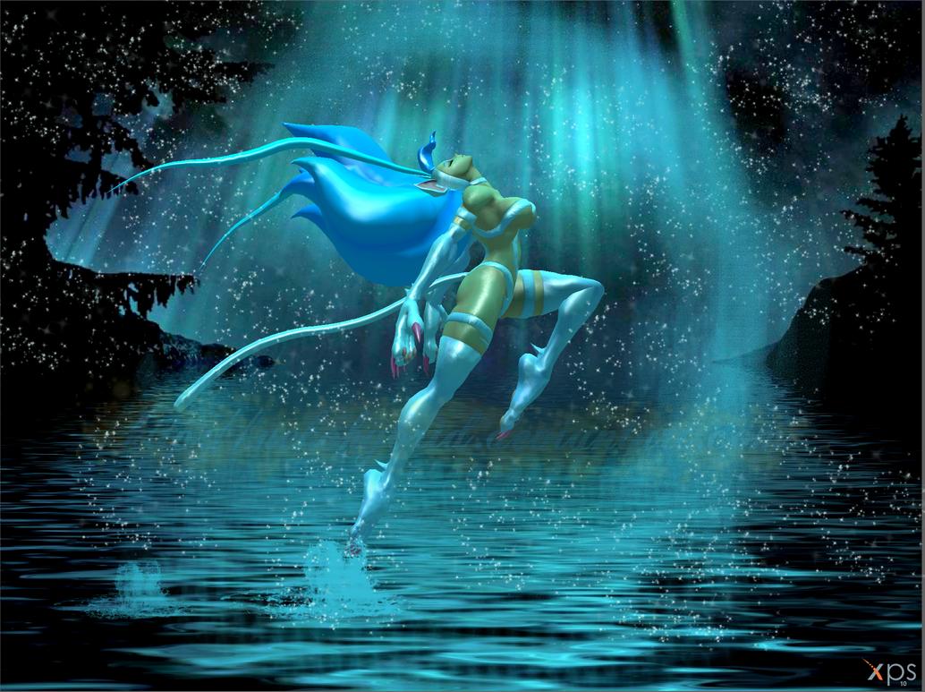 Konoha Village Png Deviantart: Felicia The Water Dancer By NekoHybrid On DeviantArt
