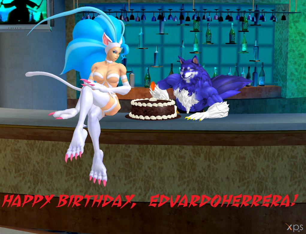 Happy Birthday, EduardoHerrera! by NekoHybrid