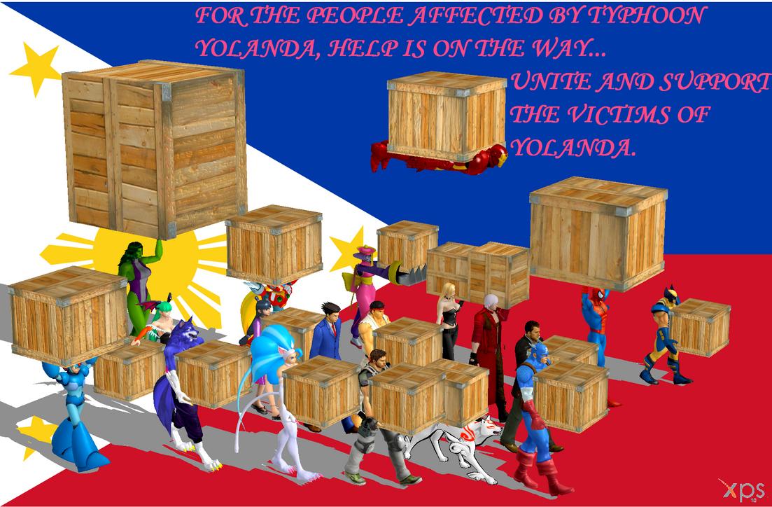 Support the Victims of Typhoon Yolanda by NekoHybrid