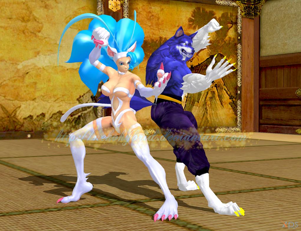 Kung Fu Werebeasts by NekoHybrid