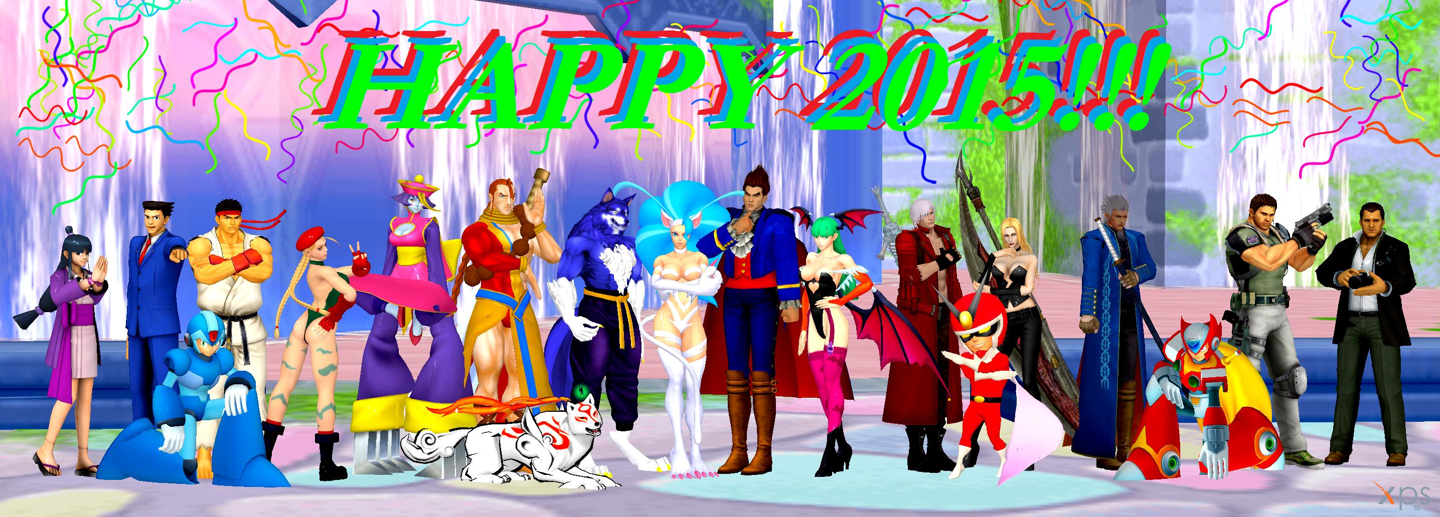 Happy 2015! by NekoHybrid