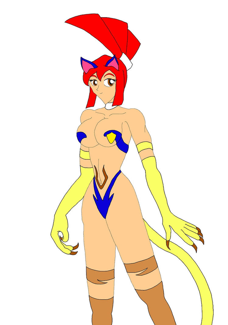 Capcom Cats: Lynne by NekoHybrid