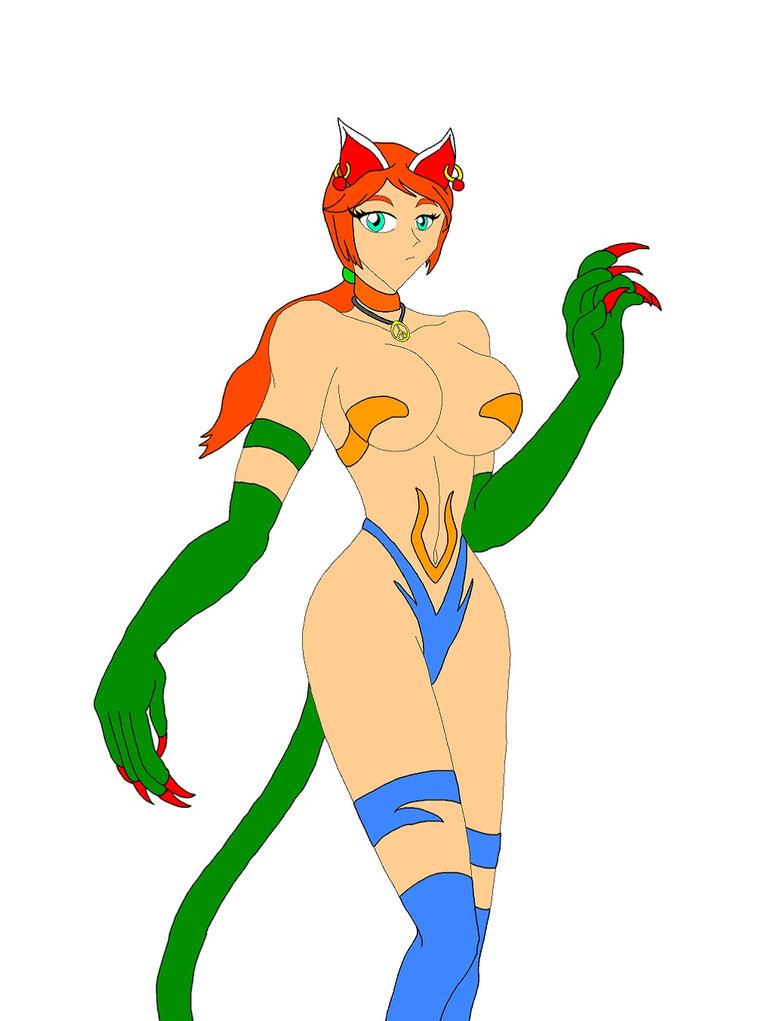 Capcom Cats: Stacey Forsythe by NekoHybrid