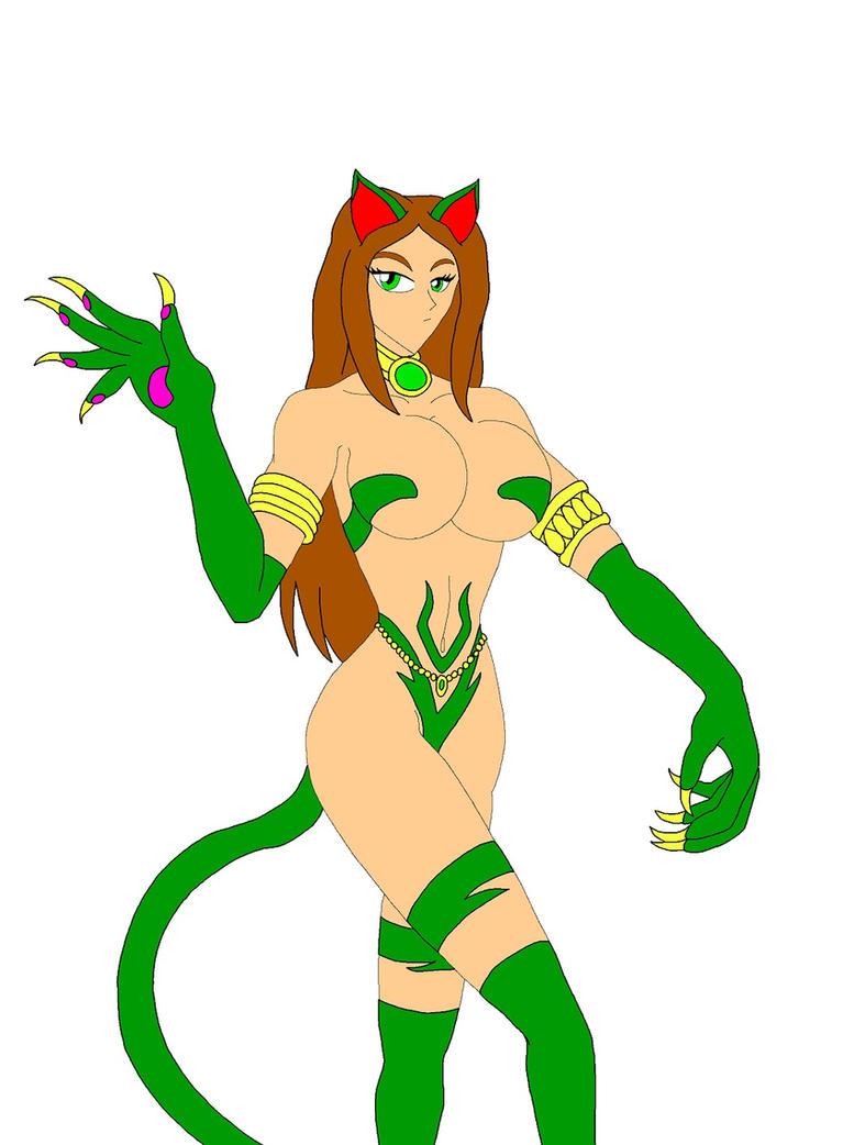 Capcom Cats: Sorceress Sephonie by NekoHybrid