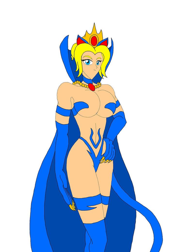Capcom Cats: Queen Sophia by NekoHybrid