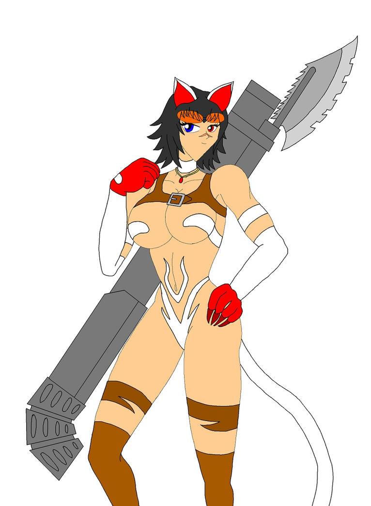 Capcom Cats: Lady by NekoHybrid