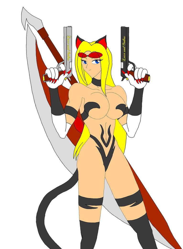 Capcom Cats: Trish by NekoHybrid
