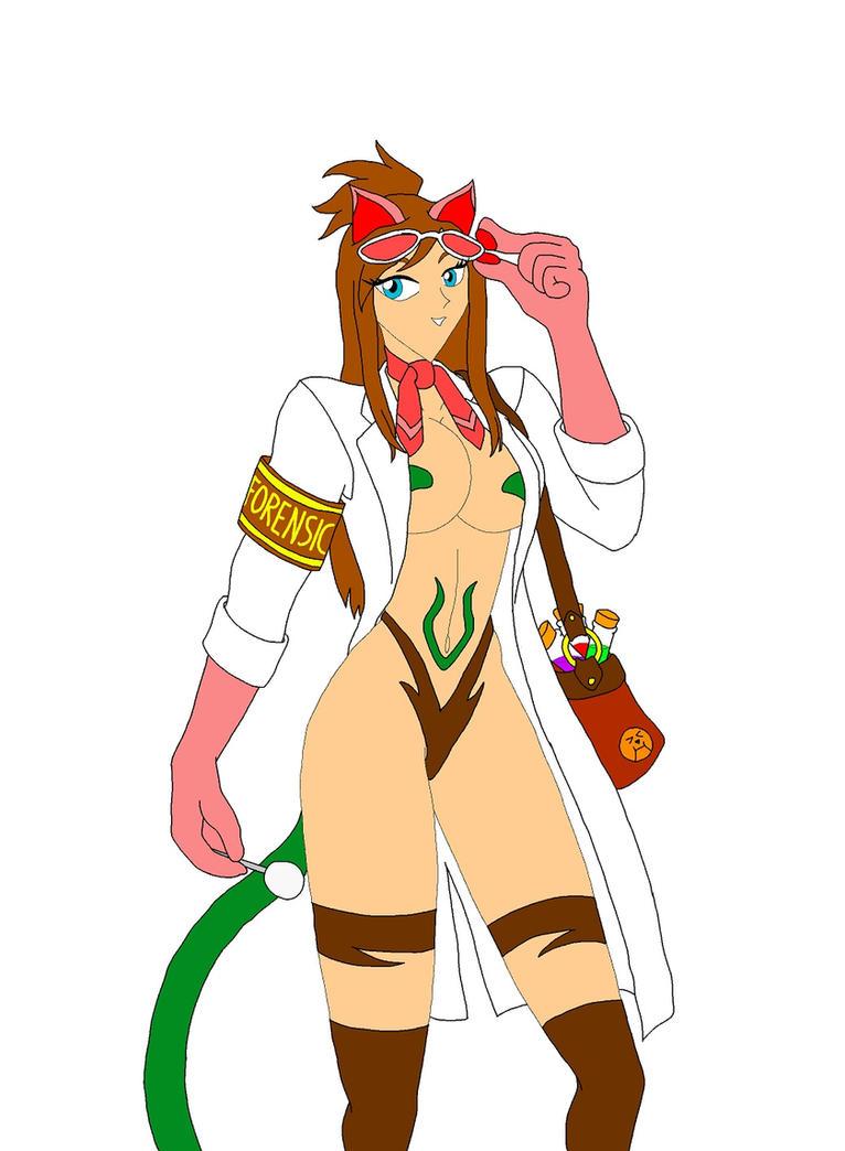 Capcom Cats: Ema Skye by NekoHybrid