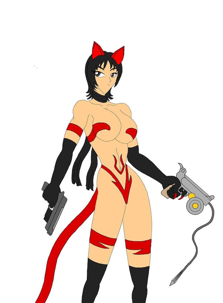 Capcom Cats: Ada by NekoHybrid