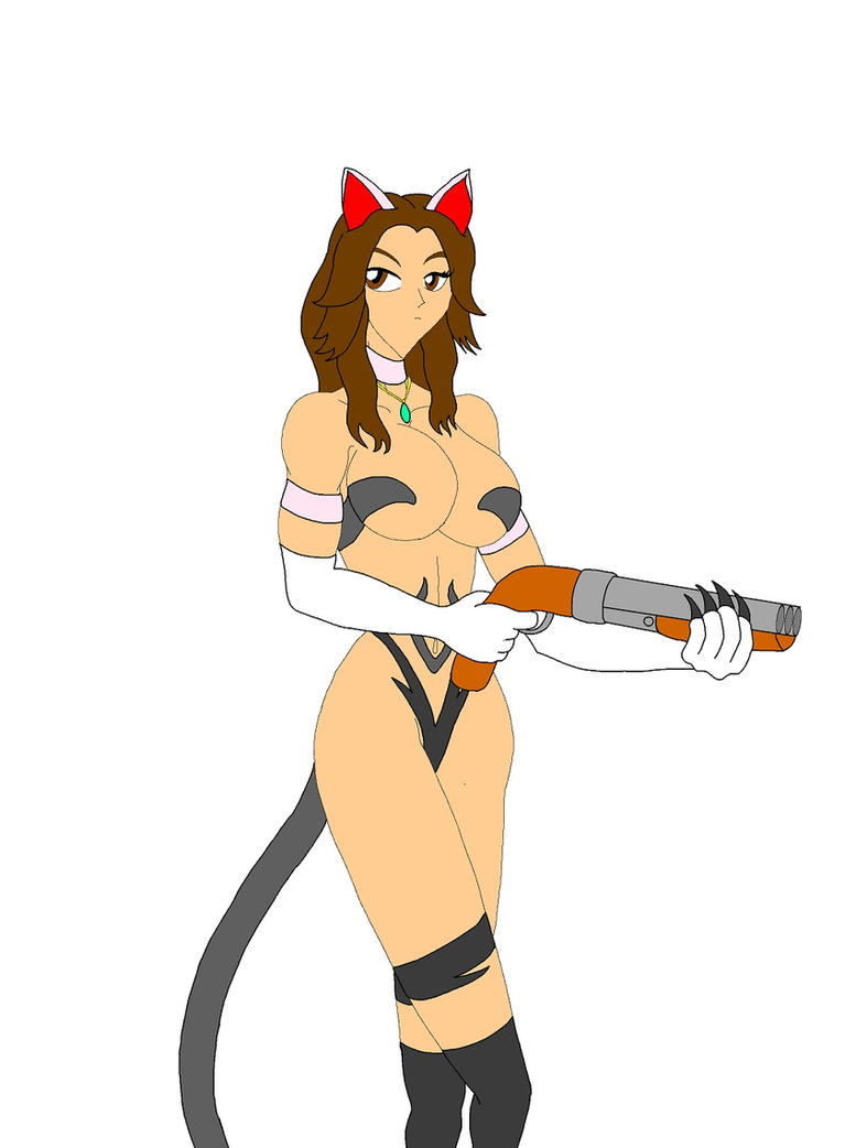 Capcom Cats: Helena by NekoHybrid