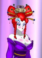 Commission: Geisha Ranma by NekoHybrid
