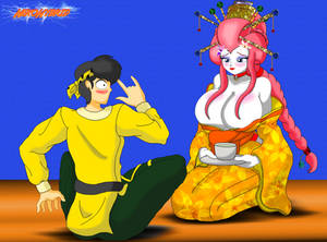 Commission: Geisha Ranma 2 by NekoHybrid