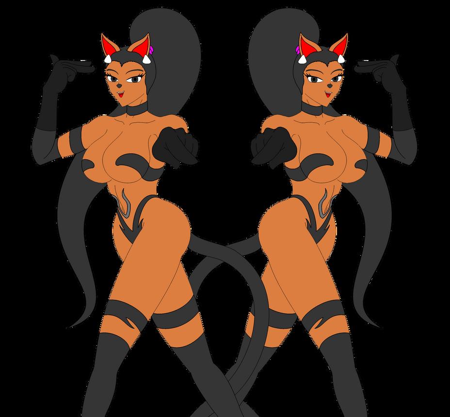 Disney Cats: Powerline Dancers by NekoHybrid
