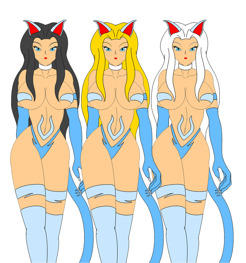 Disney Cats: The Weird Sisters by NekoHybrid