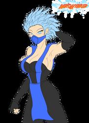 Commission: Frost by NekoHybrid