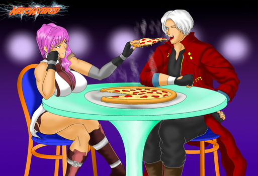 Commission: Dante and Lightning