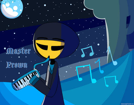 melodica master frown (UNIKITTY)