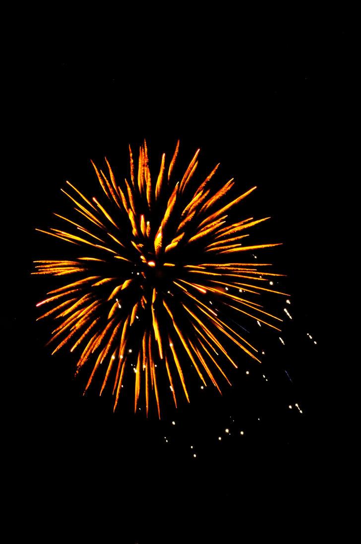 Orange Burst by Superposition-Photo