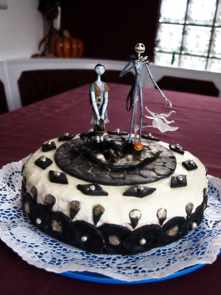 Nightmare before Christmas cake by Shelter2030