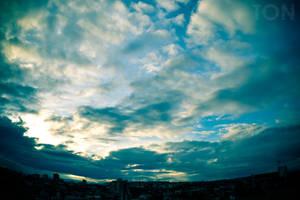Beyond the Horizon by Tadakatsukaw