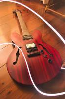 Semi-Acoustic Guitar by Tadakatsukaw